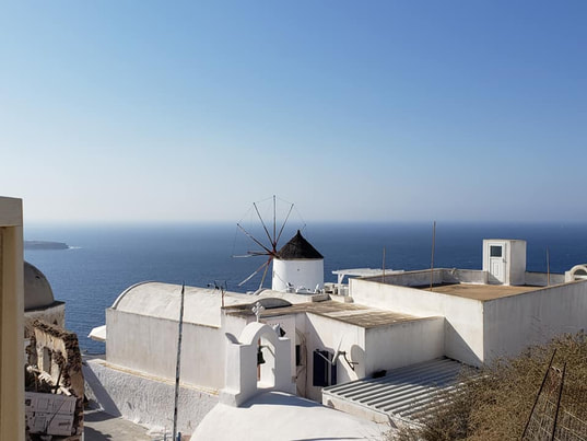 Oia, Santorini by Tracy Cahill