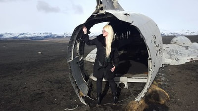 Tracy Cahill plane wreckage, Vik Iceland
